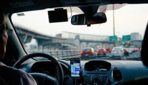 SatNav Distracted Driving